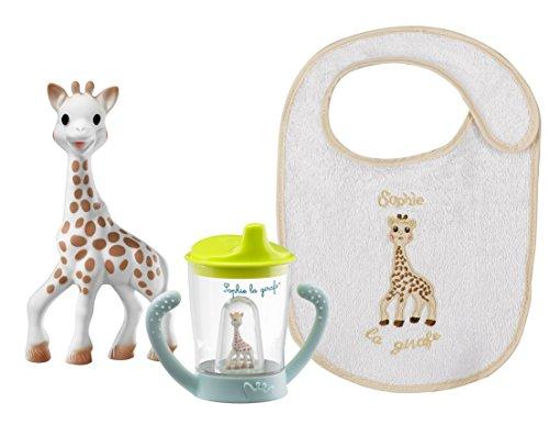 Vulli 450311 Sophie La Giraffa Set Primo Bicchiere, Multicolore
