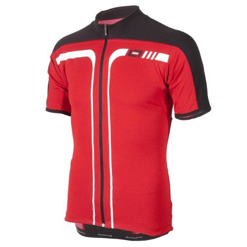 Bellwether, Maglietta Uomo Axxis Jersey, Rosso (Ferrari), XXL