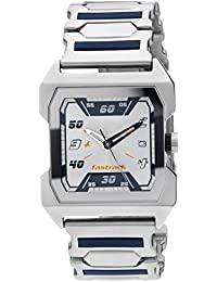 Fastrack Party Analog Silver Dial Men's Watch - NE1474SM01