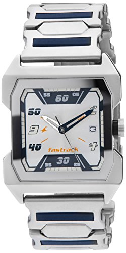 Fastrack Party Analog White Dial Men's Watch - NE1474SM01