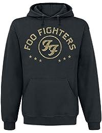 Foo Fighters Arched Star Sweat à capuche noir