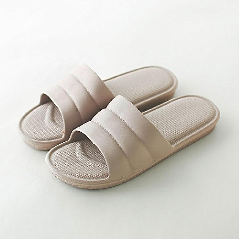 fankou Summer Slippers Summer Female Gender Indoor Anti-Slip Soft Floor Office Hotels The Rooms Are,39-40, Khaki
