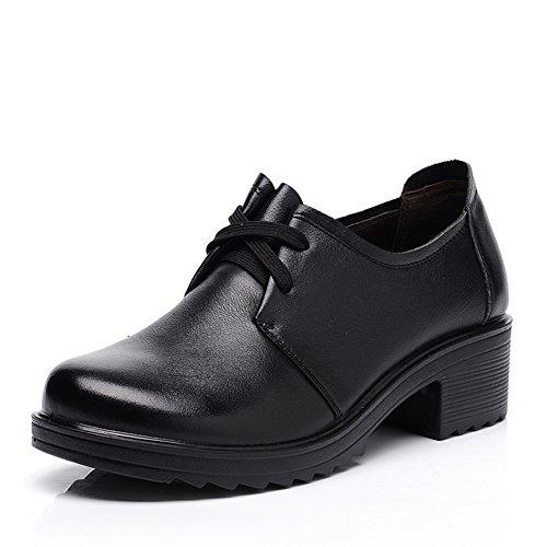 Chaussures de grand fond mou/Chaussures de femmes d'âge mûr/ d'âge mûr shoes/Chaussures de travail A