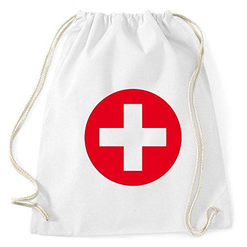 Partybob Kostüm-Rucksack Krankenschwester - Tasche für Fasching (Krank Kostüme)