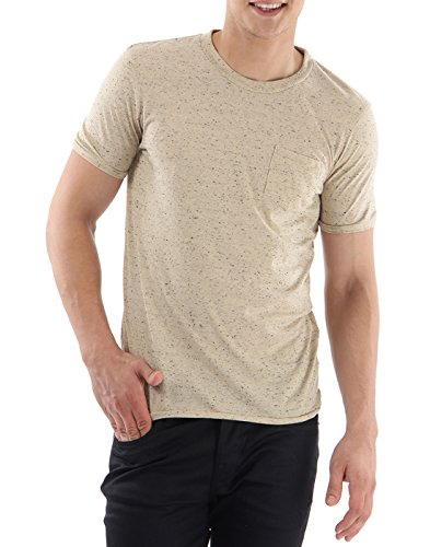 Selected SHSymbol O-Neck T-Shirt Beige
