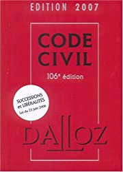 Code civil 2007