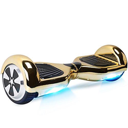 """BEBK Hover Board 6.5\"""" Smart Self Balance Scooter Elettrico Autobilanciato con LED, 2 * 350W Motore"""