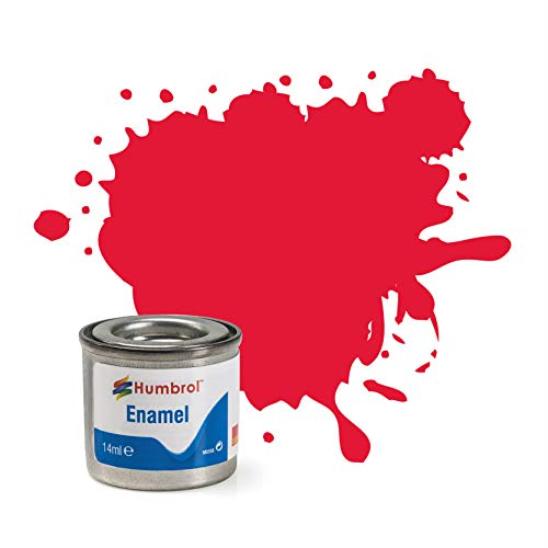 Humbrol - Pintura Esmalte, Color Arrow Red (Hornby AA0238)