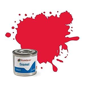 Humbrol - Pintura Esmalte, Color Arrow Red (Hornby AA0238)