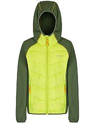 Regatta Boys & Girls Kielder Stretch Hybrid Padded Softshell Jacket