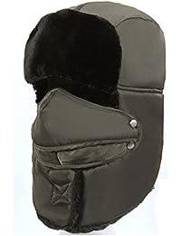 Versión coreana de las máscaras gruesas de Lei Feng en el invierno sombrero/Ciclismo al viento sombrero/Sombrero del noreste/Casco caliente