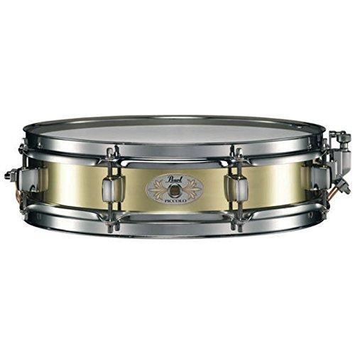 """Pearl - B1330 Piccolo Snare, 13""""x3"""", Brass"""