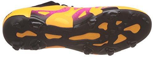 adidas Herren X 15.1 Fg/Ag Fußballschuhe Orange (Solar Gold/Core Black/Shock Pink)