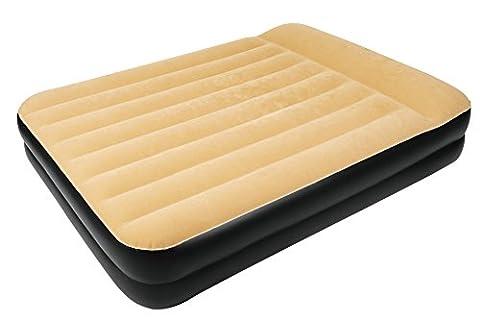 Hohes Premium Doppel-Luftbett mit integriertem Kissen, Maße: ca. 203 x