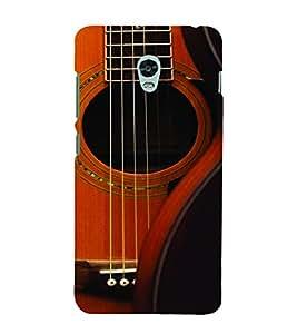 PrintVisa Music Guitar Strings 3D Hard Polycarbonate Designer Back Case Cover for Lenovo Vibe P1