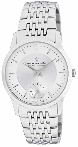 Dreyfuss and Co Mens Bracelet Watch DGB00001-02