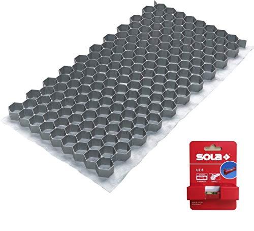 ACO Kiesstabilisierung 764 x 392 x 32 mm, Set mit 20 Matten und 1 Schnurwasserwaage