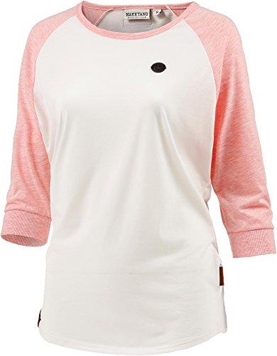 Naketano Damen Shirt 3/4-Arm Pink (71) 34