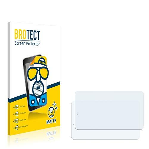 BROTECT Entspiegelungs-Schutzfolie kompatibel mit TrekStor SurfTab xiron 7.0 3G (2 Stück) - Anti-Reflex, Matt