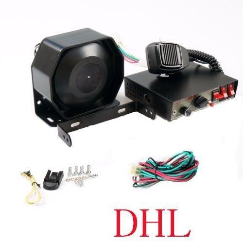 200W 8Sound Laut Auto Warnung Alarm Police Fire Sirene Horn PA Lautsprecher Mikrofon System Auto Pa-system Mikrofon