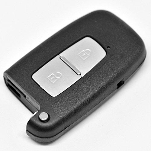 Auto chiave Smartkey telecomando senza fili Trasmettitore 2tasti Alloggiamento per Hyundai/Kia