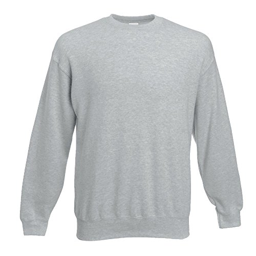 Fruit of the Loom - Sweatshirt 'Set-In' XL,sky blue XL,Sky Blue - 3