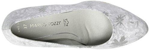Marco Tozzi Premio 22446, Escarpins Femme Gris (Quartz Comb 256)