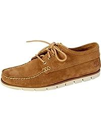 Timberland Zapatos de Cordones Amherst Oxford Barn Marrón EU 41 (US 7.5) 0JAPdu4E5E
