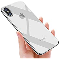omitium iPhone Xs Max Case, Protective Case for iPhone Xs Max TPU Bumper case Scratch Resistant shockproof Flexible Silicone Phone Case for iPhone Xs Max Case Cover- Transparent
