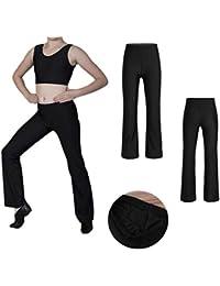 00f9f8f2bb6caa adidas Performance Kinder Trainingshose YB Essential LOGO PANT schwarz     rot