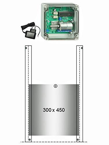 JOSTechnik JT-HK Entenklappe automatisch 300 x 450 mm und echter Nothaltefunktion