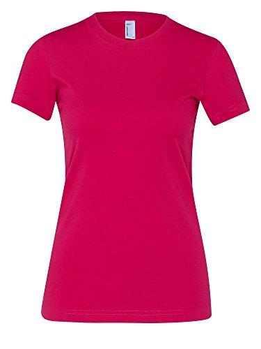 american-apparel-donne-maglietta-rosso-m