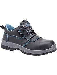 Paredes SP5020ne44grafito–Zapatos de seguridad S3talla 44NEGRO/AZUL