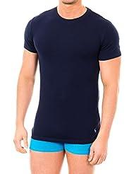 Polo Ralph Lauren Homme 2 T-shirts Paquet coton stretch, Multicolore