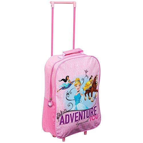 Trolley per bambini, con personaggi Disney e Marvel multicolore Disney Princess 43x29x14 cms