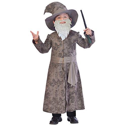 Kinder Dumbledore Kostüm - Weiser Zauberer - Gandalf Dumbledore Kostüm Kinder Jungen Amscan