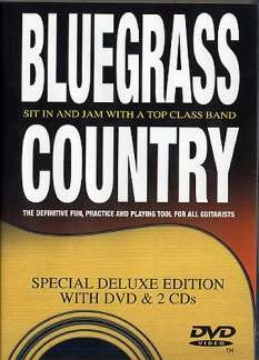 BLUEGRASS COUNTRY - arrangiert für mit DVD - mit 2 CD´s - Gitarre [Noten / Sheetmusic] Komponist: COLLINS RICHARD