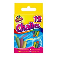 Artbox Coloured Chalks in Hanging Box (Pack of 12)