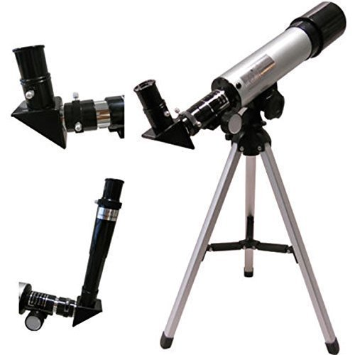 Diswa Land and Sky 90x Zoom Refractor Telescope with Free Tripod & 2 EYEPIECES