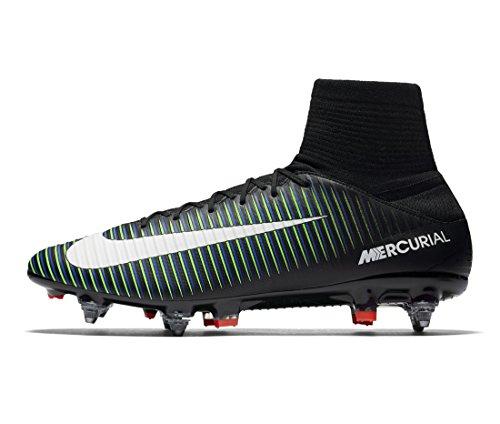 Nike Herren 831962-013 Fußballschuhe Black (Schwarz / Weiß-Elektro - Grün)