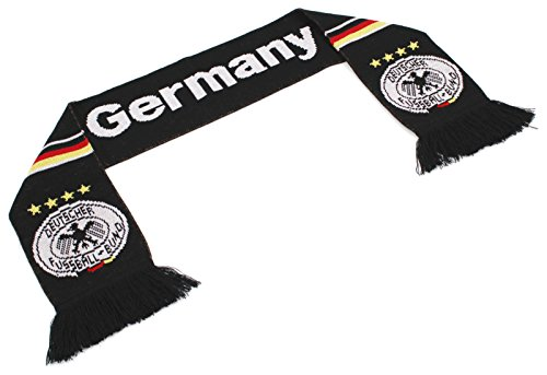 High End Hats Official Nations Europe Scarf Collection Doppelgewebter Kopfschal für Männer und Frauen, Euro Soccer Nationalsymbole, Herren, Deutschland