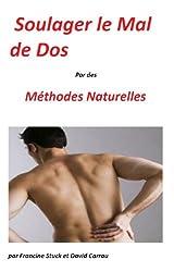 Mal de Dos : Traitements Naturels pour soigner le Mal au dos