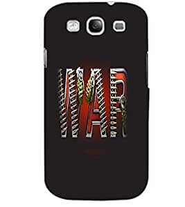 SAMSUNG GALAXY S3 WAR Back Cover by PRINTSWAG