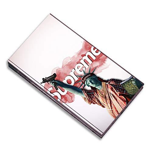 JSCFYJ Zigarettenschachtel Kästen Trend Kreativ Aluminiumlegierung Tasche Halter zum 20 Zigaretten,Liberty -