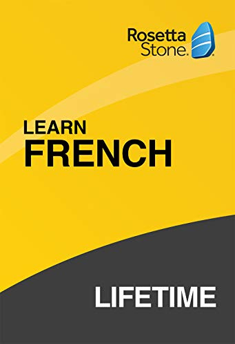 Rosetta Stone Lifetime Subscription French PC/Mac Code activation via email|Personal|1 User, multiple devices|LIFETIME|PC/Mac/Smartphone|Download|Download (Rosetta Stone Pc)
