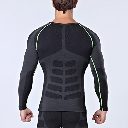 Bwiv-Mens-Compression-Top-Long-Sleeve-Base-Layer-Quick-Drying-Sports-Shirt-for-Running-Cycling-Exercise