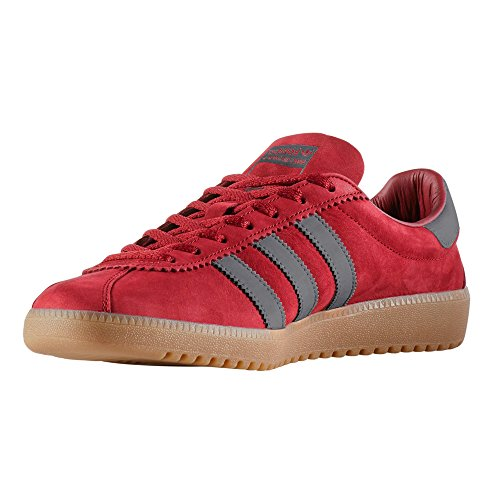 Adidas Bermuda BY9653, BY9653 Beige et Rouge, Sneakers Pour les Hommes. Sneaker Burgundy/Utility