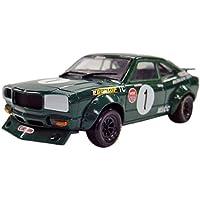 Kyosho 1/43 original de Mazda Savanna RX-3 No.1 1973 (verde)