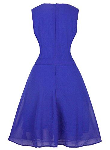 Futurino - Robe - Trapèze - Femme Bleu