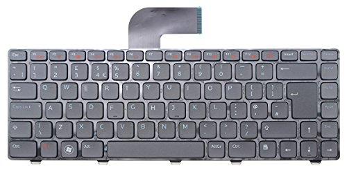 Original Dell Notebook Tastatur für Inspiron 3420 3520 M5040 N4050 N411z N5050 Vostro 1450 1550 2420 2520 3350 3450 3460 3550 3555 V131 XPS L502X, QWERTY Tastatur mit dem englischen - UK